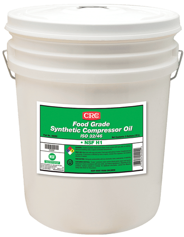 FOOD GRADE SYNTHETIC COMPRESSOR OIL ISO 68 CRC FG04206