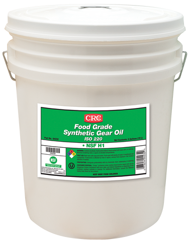 FOOD GRADE SYNTHETIC GEAR OIL ISO 220 CRC FG04232