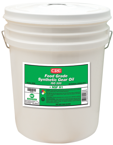 FOOD GRADE SYNTHETIC GEAR OIL ISO 320 CRC FG04236