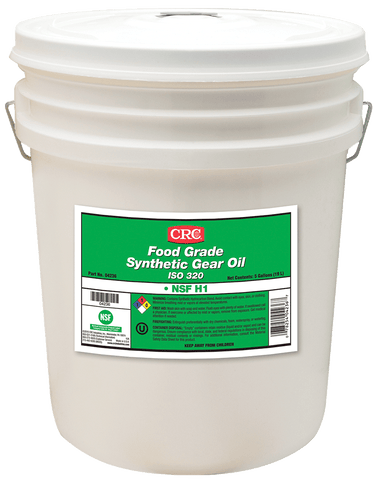 FOOD GRADE SYNTHETIC GEAR OIL ISO 460 CRC FG04242