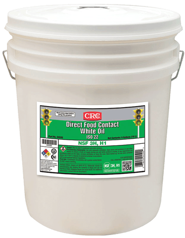 DIRECT FOOD CONTACT WHITE OIL 3H ISO 22 CRC FG04592
