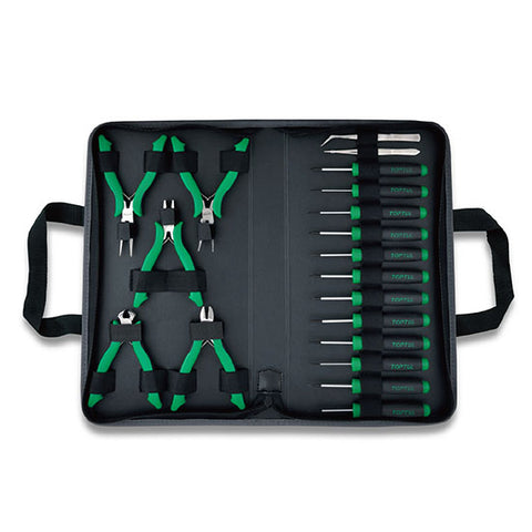 Toptul 19PCS  Electronics Tool  Set