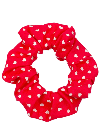 Hearts of Love Hair Scrunchie