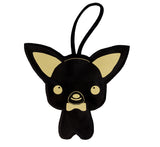 Italian Vegan Leather Chihuahua Waste Bag Holder
