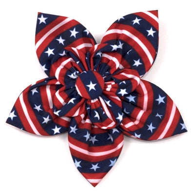 Stars & Stripes Flower Bow
