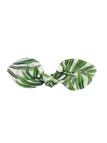 Palm Leaf Hair Bow