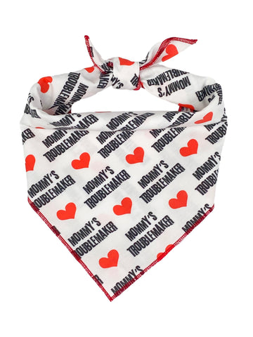 Mommy's Troublemaker Bandana