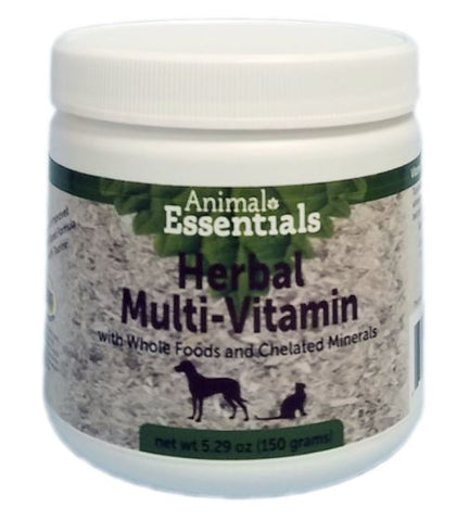 Herbal Multi-Vitamin and Chelated Minerals with Whole Foods