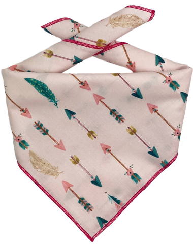 PInk Arrows Bandana