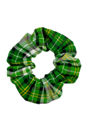 Irish Plaid Hair Scrunchie
