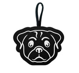 Italian Vegan Leather Pug Waste Bag Holder