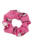 Pink Snoopy Hair Scrunchie
