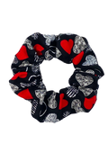 Many Hearts of Love Hair Scrunchie