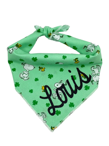 Snoopy & Clovers