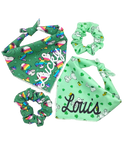 Snoopy & Clovers Hair Scrunchie