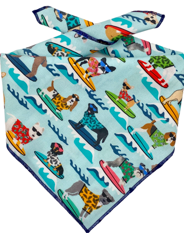 Surfing Dog Bandana