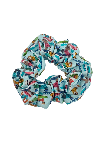 Surf's Up Dog Scrunchie