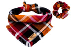 Autumn Plaid Bandana