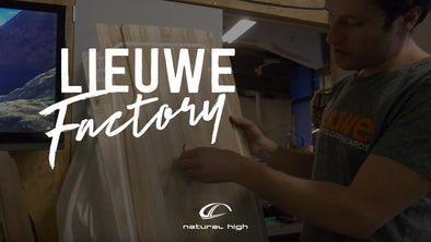 Natural High at Lieuwe Boards factory