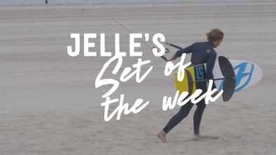 Jelle's set of the week | Foil kitesurfing