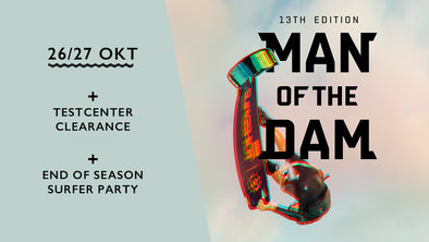 Man of the dam | Sale of the dam | End of season party