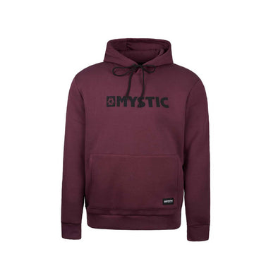 Brand Hood Sweat - Oxblood Red
