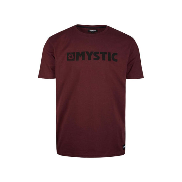 Brand Tee - Oxblood Red