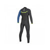 Majestic Fullsuit 3/2mm Fzip Grey / Blue