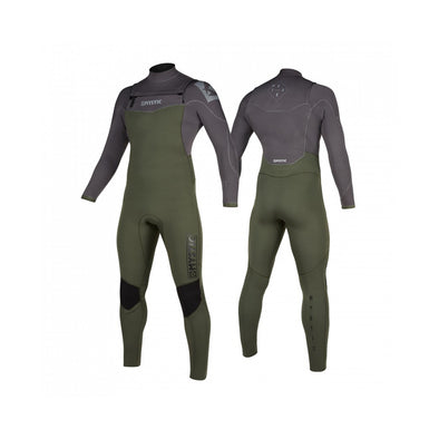 Star Fullsuit 5/3mm Double Fzip - Grey Green
