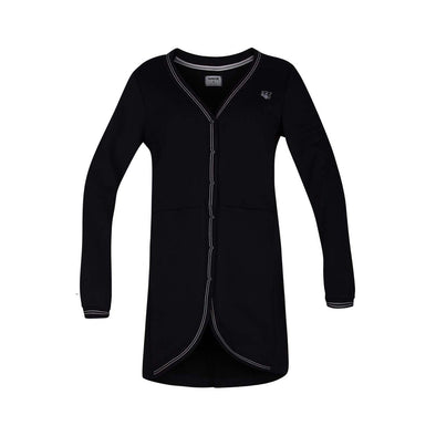 W CARDIGAN FLEECE TUNIC