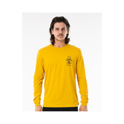 Search Essential L/S Tee Mustard