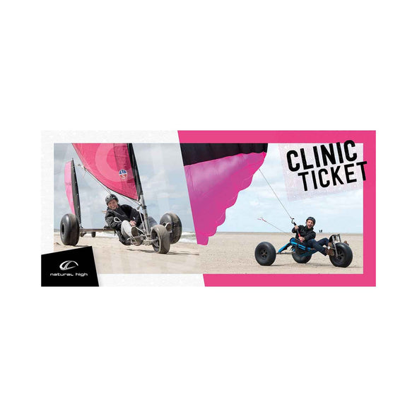 Clinic ticket Blokarting/kitebuggying