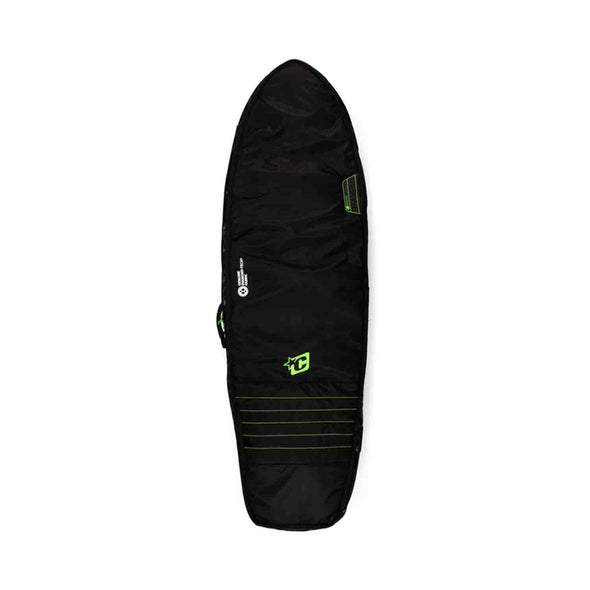 Creatures Fish Double boardbag - Black Lime