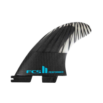 FCS II Performer PC Carbon Tri Fin Set