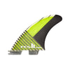 FCS II Carver PC Carbon Tri Fin Set