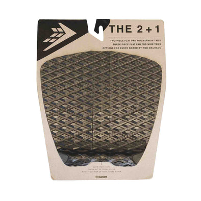 Firewire 2 + 1 Flat traction pad - Black
