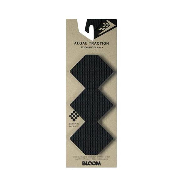 Firewire Front Foot Hex Traction Pad - Black/Grey
