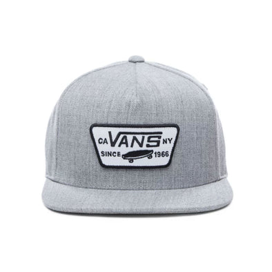Mn Full Patch Snapback Heather Grey