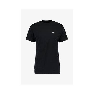 Mn Left Chest Logo Tee Black/White
