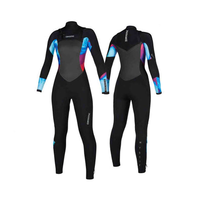 Diva Fullsuit 4/3mm Double Fzip Women - Aurora