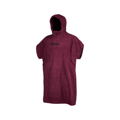 Poncho - Oxblood Red