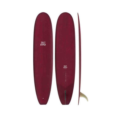 9'0 Dusty Retro Longboard Merlot Tint