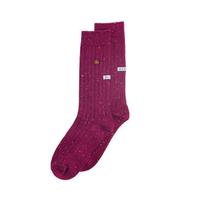 Speckled Cotton Bordeaux