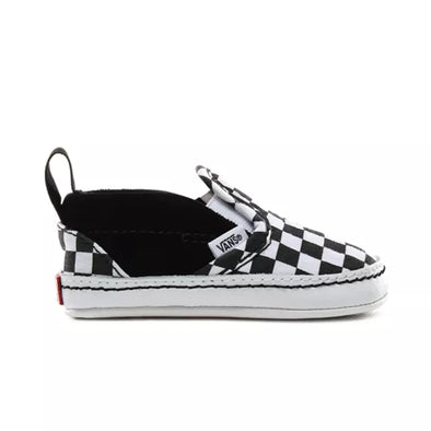 Baby Checker Slip-On V Crib Black/True White