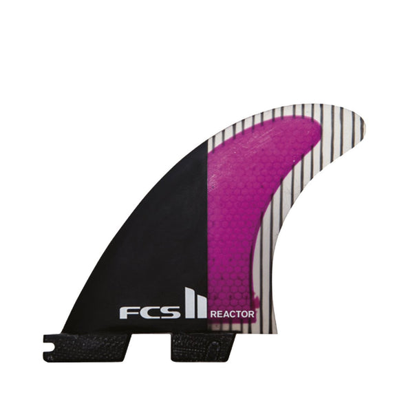 FCS II Reactor PC Carbon Tri Fin Set