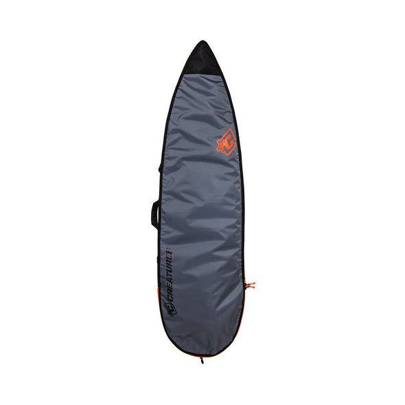 Creatures Shortboard Lite bag - Charchoal Orange