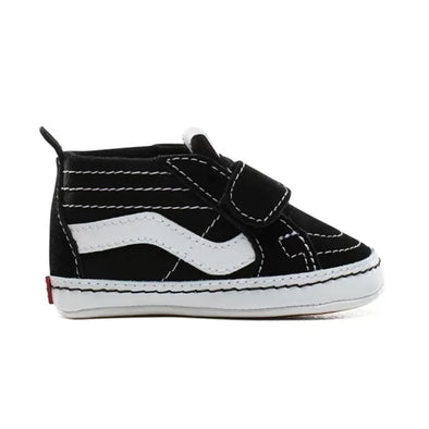 Baby Sk8-Hi Crib Black/True White