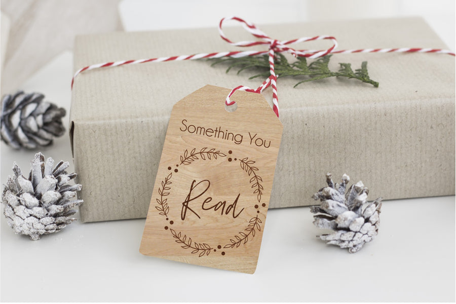 Something You Want, Need, Wear, Read Gift Tags - Aston Blue