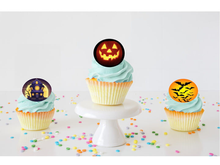 Halloween Edible Cupcake Images