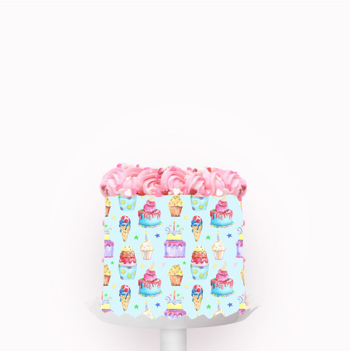 Ice Cream Edible Icing Image